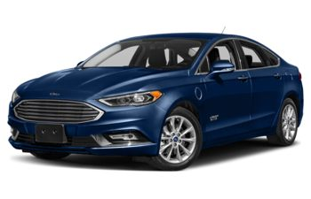2018 Ford Fusion Energi - Lightning Blue