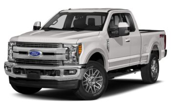 2017 Ford F-250 - White Platinum Tri-Coat Metallic