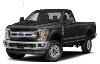 2017 Ford F-250 - Shadow Black