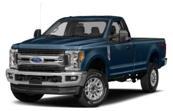 2017 Ford F-250 - Blue Jeans Metallic