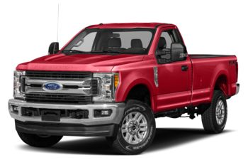 2017 Ford F-250 - Race Red