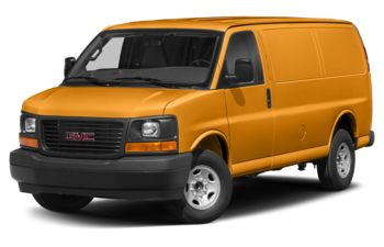 2017 GMC Savana 3500 - Wheatland Yellow