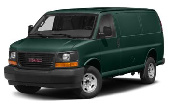 2017 GMC Savana 3500 - Woodland Green