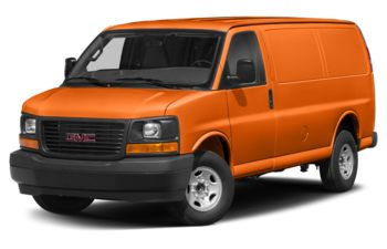 2018 GMC Savana 3500 - Tangier Orange