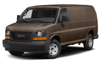 2017 GMC Savana 3500 - Brownstone Metallic