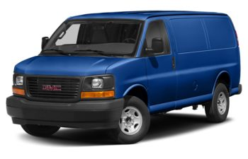 2018 GMC Savana 2500 - Marine Blue Metallic