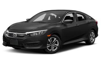 2017 Honda Civic - Crystal Black Pearl