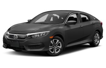 2017 Honda Civic - Modern Steel Metallic
