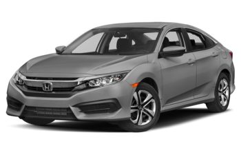2017 Honda Civic - Lunar Silver Metallic