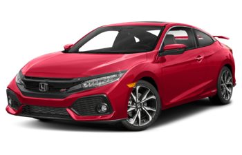 2017 Honda Civic - Rallye Red
