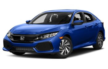 2017 Honda Civic Hatchback - Aegean Blue Metallic