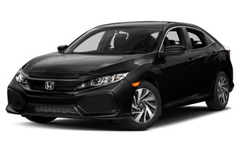 2017 Honda Civic Hatchback - Crystal Black Pearl