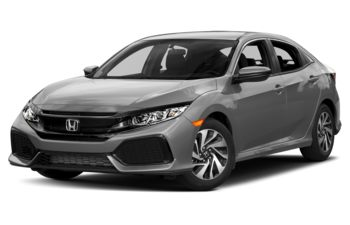 2017 Honda Civic Hatchback - Lunar Silver Metallic