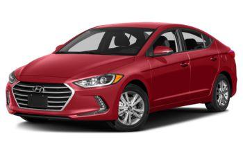 2018 Hyundai Elantra - Fiery Red Pearl
