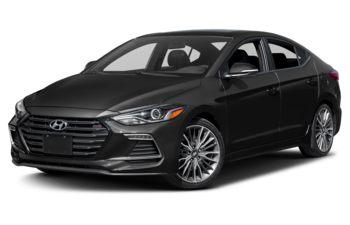 2018 Hyundai Elantra - Space Black Pearl