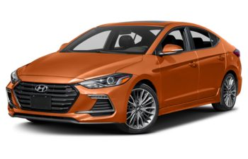 2018 Hyundai Elantra - Phoenix Orange Pearl