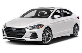 2018 Hyundai Elantra - Polar White