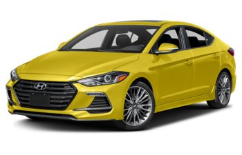 2018 Hyundai Elantra - Blazing Yellow Pearl