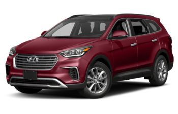 2017 Hyundai Santa Fe XL - Regal Red Pearl