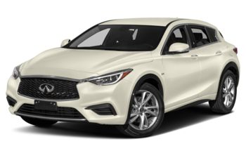 2018 Infiniti QX30 - Majestic White Pearl