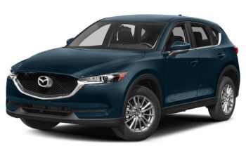 2017 Mazda CX-5 - Deep Crystal Blue Mica