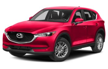 2017 Mazda CX-5 - Soul Red Crystal Metallic
