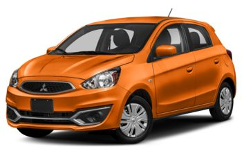 2019 Mitsubishi Mirage - Sunrise Orange