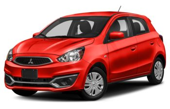 2019 Mitsubishi Mirage - Infrared