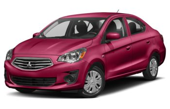 2019 Mitsubishi Mirage G4 - Wine Red