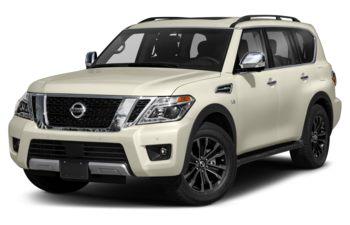 2019 Nissan Armada - Pearl White