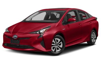 2018 Toyota Prius - Hypersonic Red