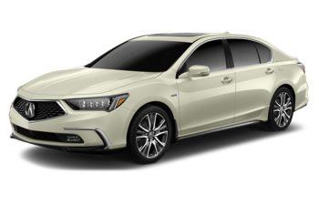 2018 Acura RLX Sport Hybrid - Platinum White Pearl