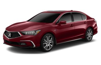 2018 Acura RLX Sport Hybrid - Brilliant Red Metallic