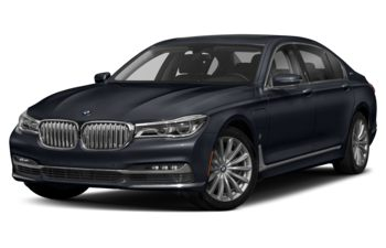 2017 BMW 740Le - Imperial Blue Metallic