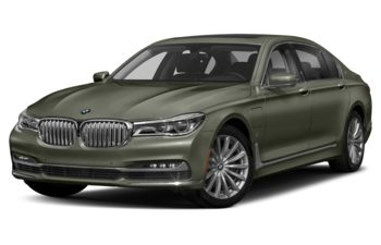 2018 BMW 740Le - Atlas Cedar Metallic