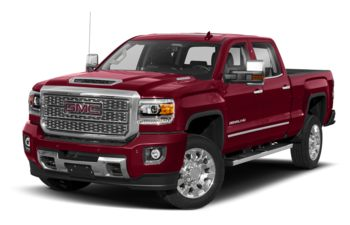 2019 GMC Sierra 2500HD - Red Quartz Tintcoat