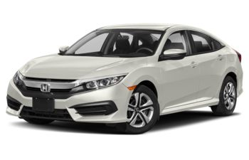 2018 Honda Civic - Taffeta White