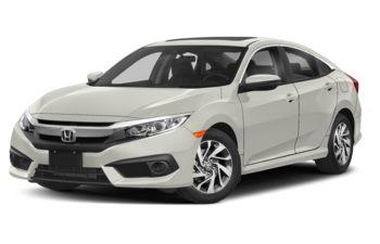 2018 Honda Civic - White Orchid Pearl