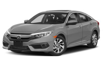 2018 Honda Civic - Lunar Silver Metallic