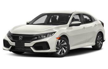 2018 Honda Civic Hatchback - White Orchid Pearl