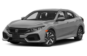 2018 Honda Civic Hatchback - Lunar Silver Metallic