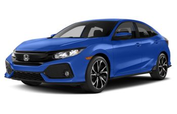 2018 Honda Civic - Aegean Blue Metallic