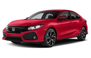 2018 Honda Civic - Rallye Red