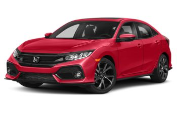 2018 Honda Civic Hatchback - Rallye Red