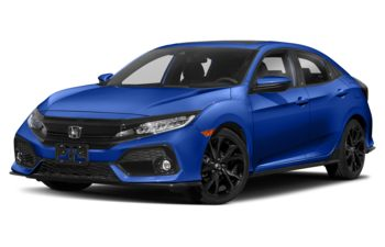 2018 Honda Civic Hatchback - Aegean Blue Metallic
