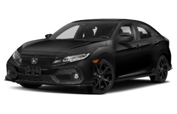 2018 Honda Civic Hatchback - Crystal Black Pearl