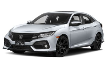 2018 Honda Civic Hatchback - Sonic Grey Pearl
