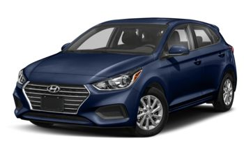 2019 Hyundai Accent - Azure Blue