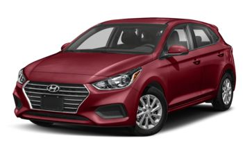 2020 Hyundai Accent - Fiery Red