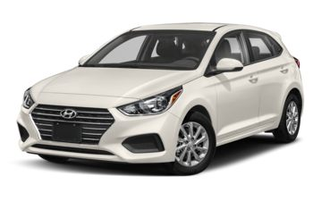 2020 Hyundai Accent - Snow White Pearl